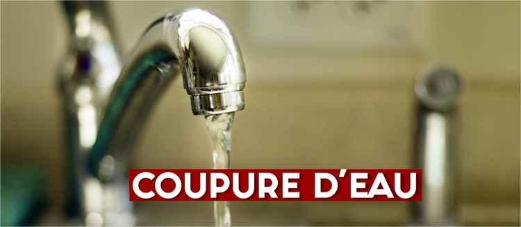actu COUPURE D4EAU