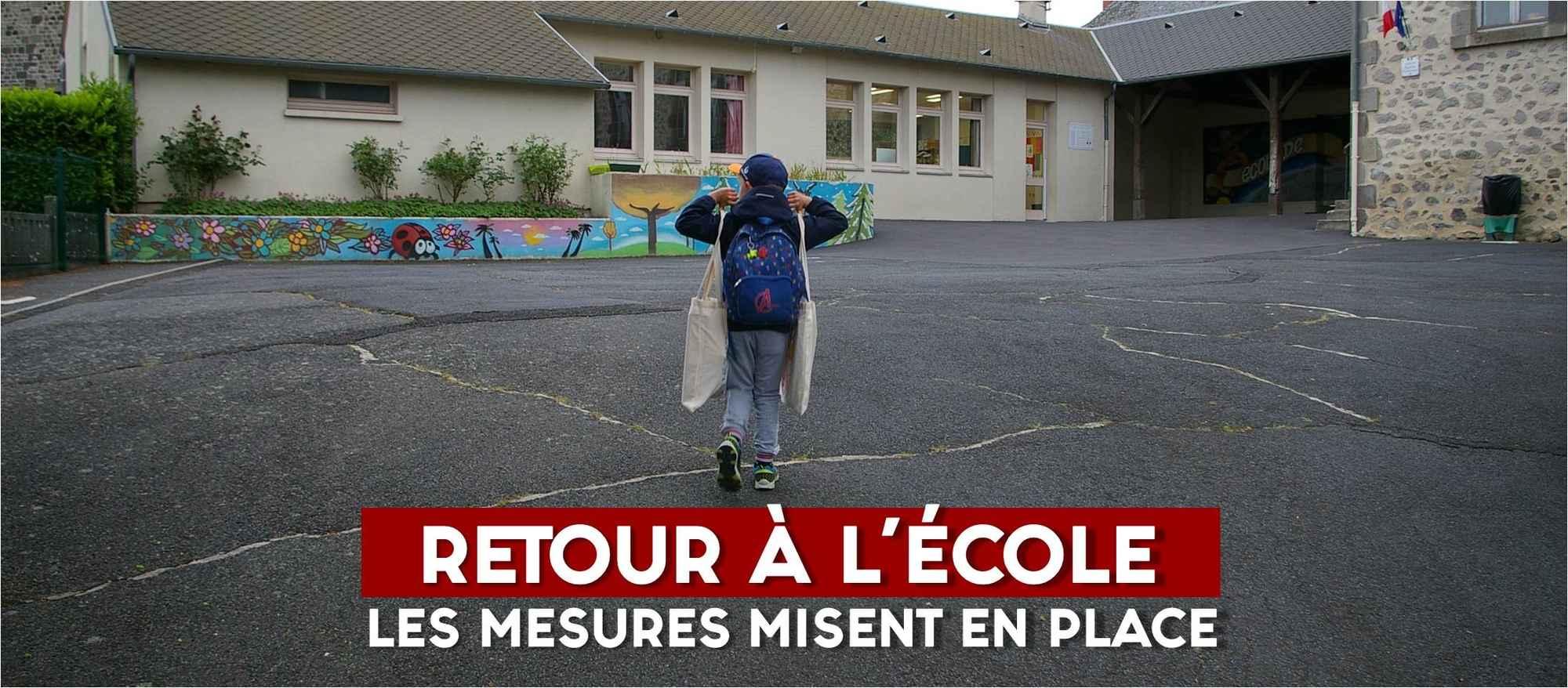 ACTU retour à l'école